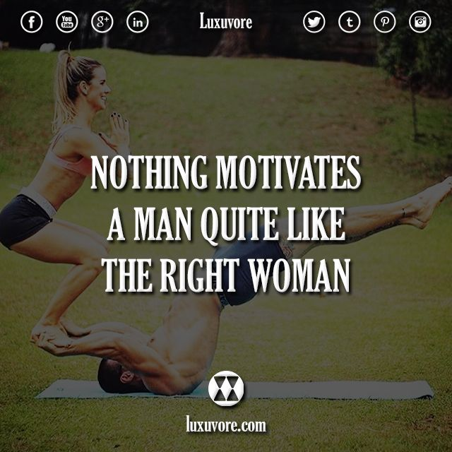 Nothing motivates a man quite like the right woman. 👍🏼 or 👎🏼? >> @nowplayingmusik for more!