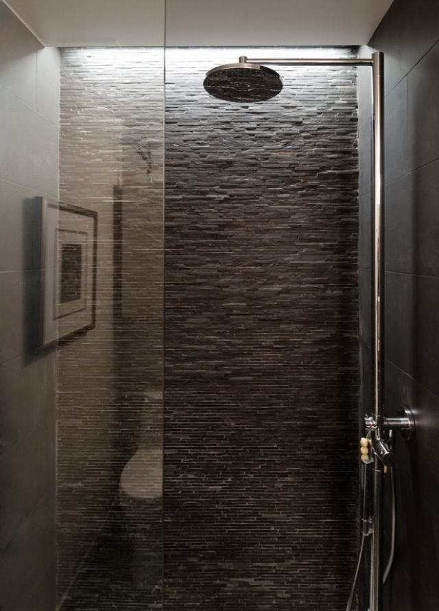 Wet room texture loft ideas pinterest grey love for Slate wet room