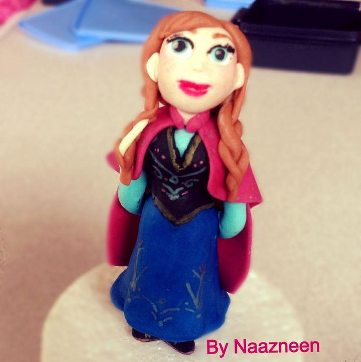 Anna frost sugarpaste by Naazneen