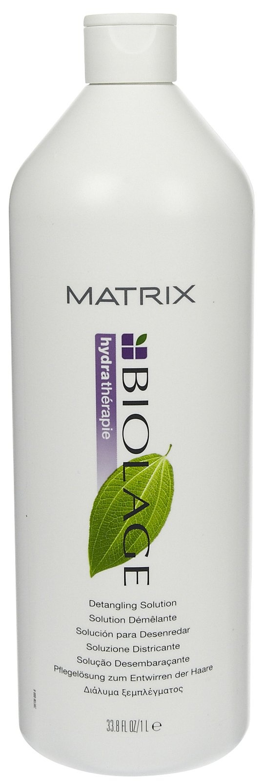 Biolage Detangling Solution-- soooooo awesome on hair that tangles easily! It's magic