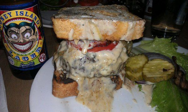 Island Burgers and Shakes - Home of the Chicken Churrasco A must try the Napalm burger