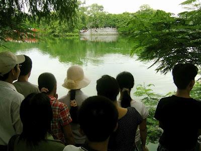 Seeing Hanoi's legendary turtle