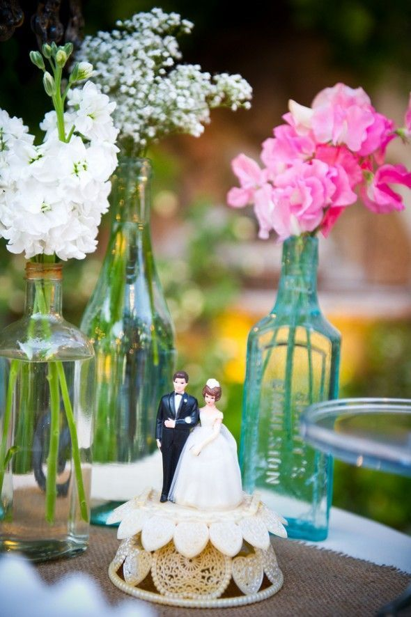 127 best Wedding Cake Toppers images on Pinterest | Wedding cake ...