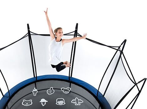 The Vuly 2 Trampoline packs all your favorite features into one amazing trampoline. It's America's safest trampoline! At NJ Swingsets