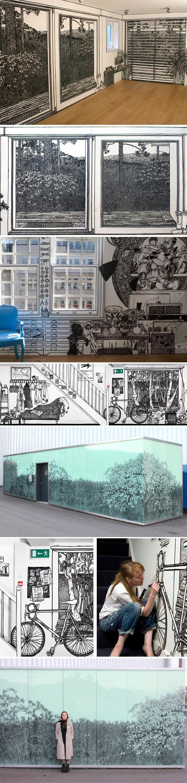 Ilustrar para criar ambiente - Charlotte Mann