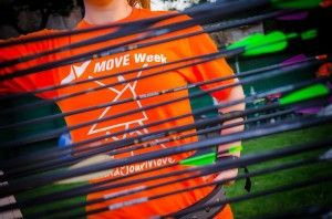 MOVE Week in Serbia demonstrates ways to activate the body and calm the mind at the same time. How? Archery.
