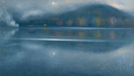 Ettore de Conciliis, Fog on the River, 2007