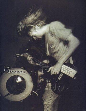 45 fotos de Kurt Cobain