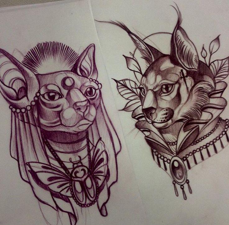 best 25 bastet tattoo ideas on pinterest egyptian cats