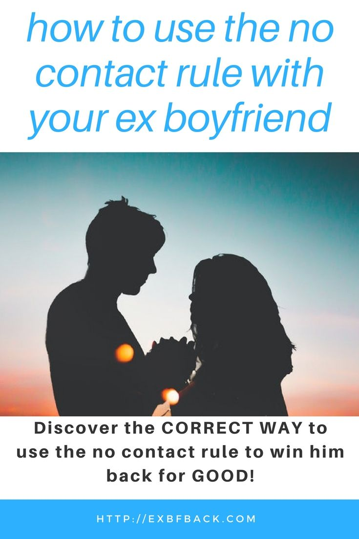 How to use no contact with your ex boyfriend to get him back! | The