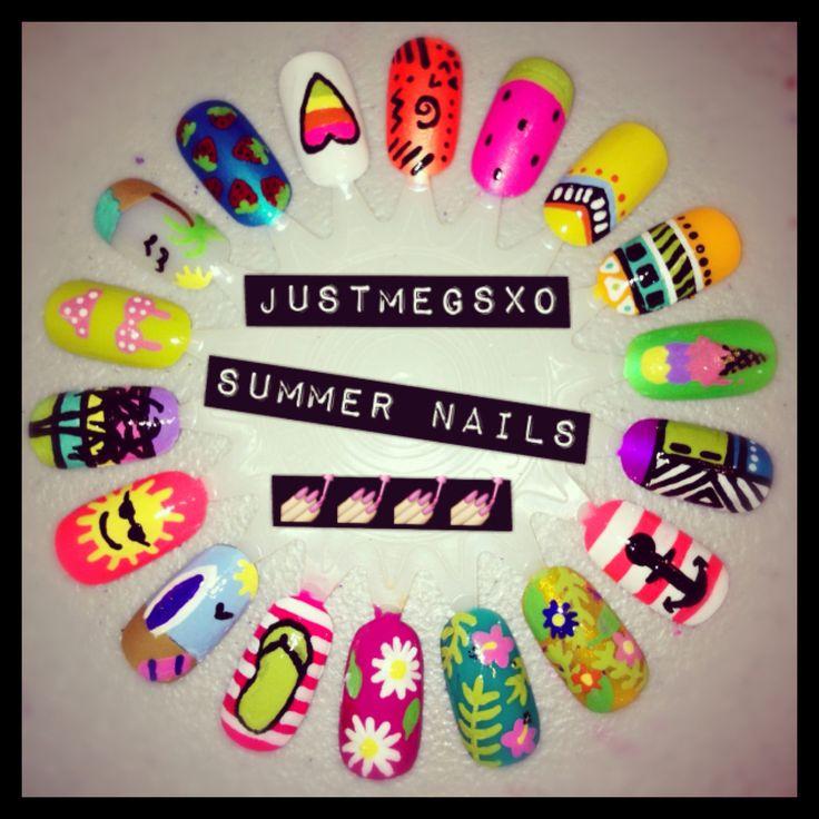 Summer Nail Art ♡