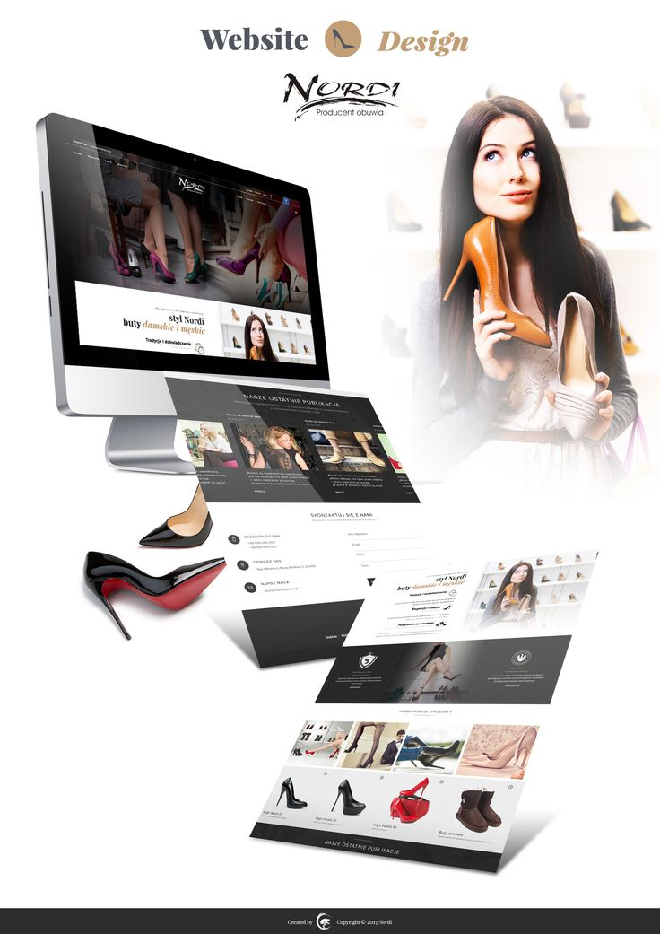 Nordi Shoes Web Design