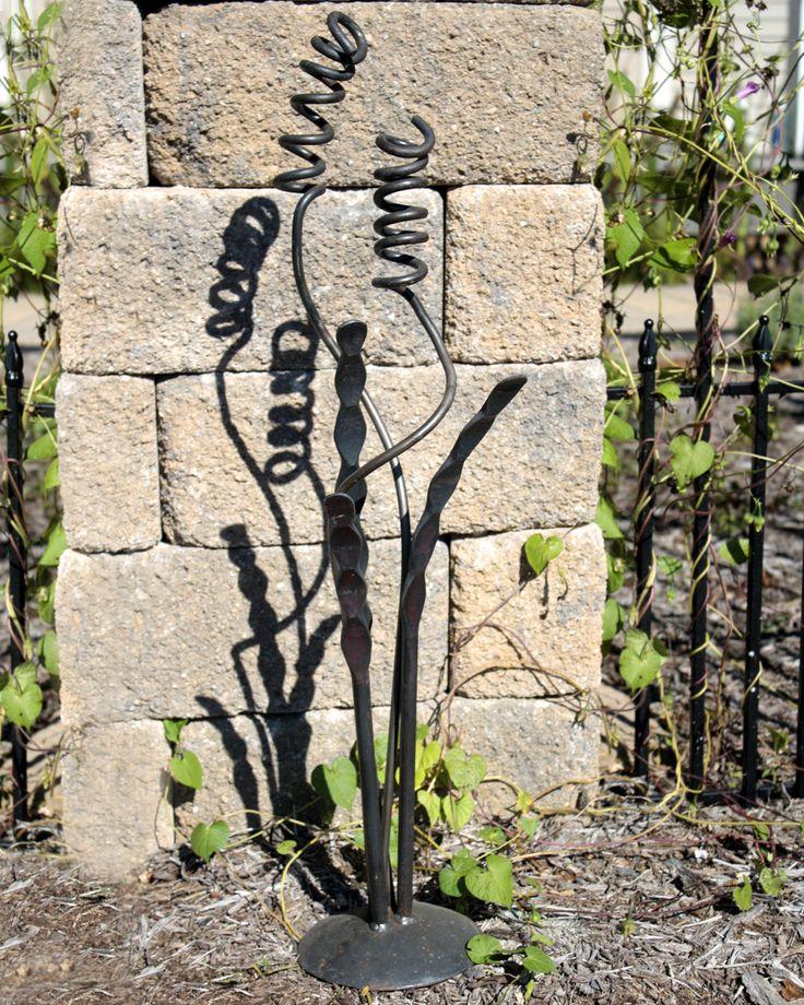 Unique Garden Art: 1000+ Images About Metal Yard Art On Pinterest