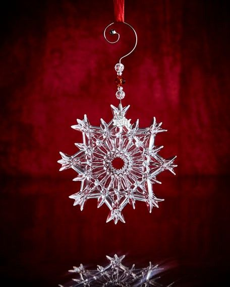 Waterford 2017 Annual Snow Crystal