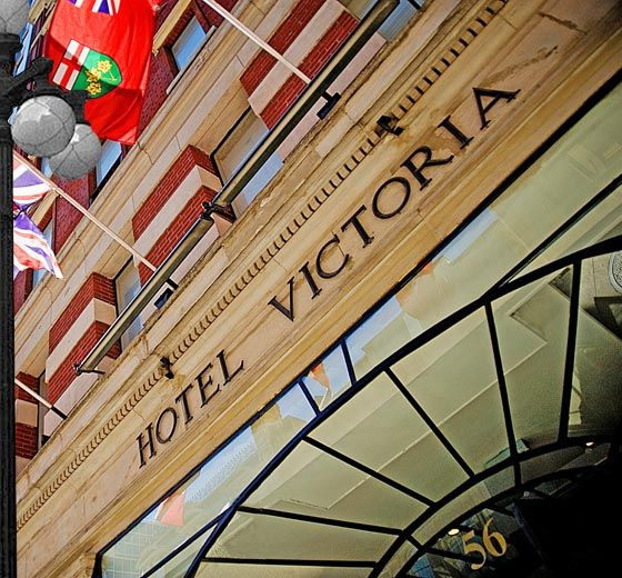 Hotel Victoria Toronto | Downtown Toronto Hotel | Toronto Hotel-This is me and Joel's favorite hotel in downtown toronto!
