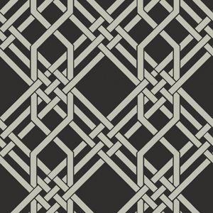 Florence Broadhurst Pagoda Midnight #materialisedfabrics #fabricsfortherealworld #performancefabrics #restaurantdesign #florencebroadhurst