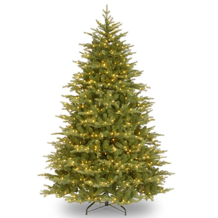 5.5ft Most Advanced Pre-lit Nordic Spruce Feel-Real Artificial Christmas Tree