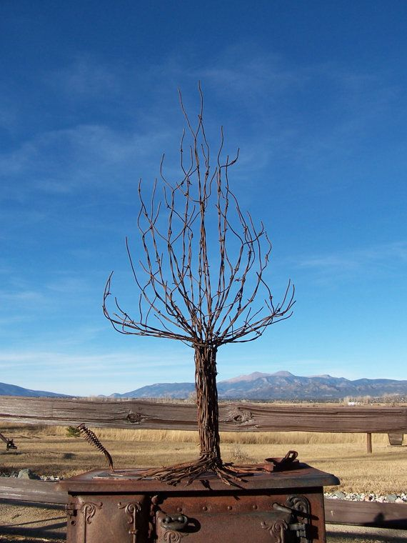 26 Best Images About Barbed Wire Garden Sculptures On
