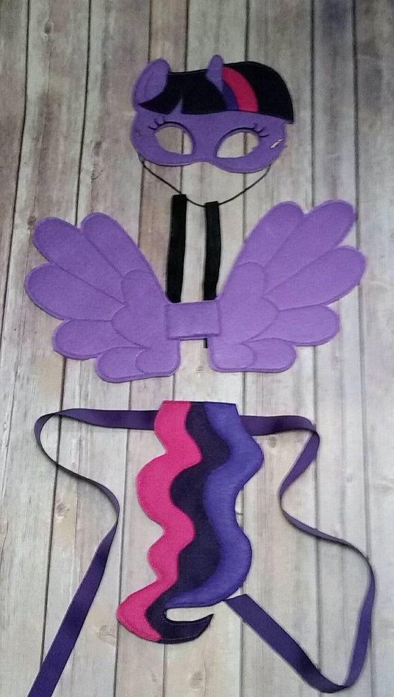 Mi pequeño Pony Twilight Sparkle máscara, ala y cola conjunto pretender jugar…