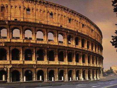 12. Colosseum~ is a free standing theatre unlike many ancient theaters  fact from~   http://en.wikipedia.org/wiki/Colosseum