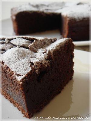 Ultra fondant au chocolat - Le Monde Culinaire De Meriem