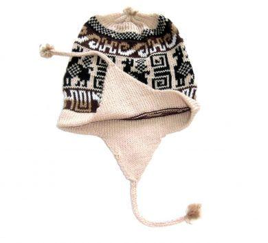 Inka Design #Chullo #Mütze aus #Peru, #Alpakawolle.