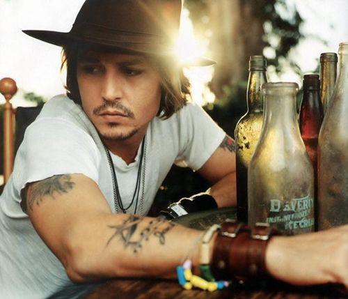 johnny depp: Eye Candy, Johnny Depp, Jonny Depp, Cute Hats, Things, Beautiful People, Johnnydepp, Hot Guys, Cute Tattoo