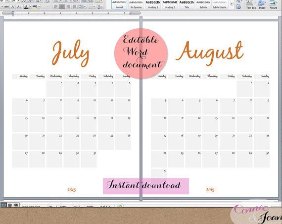 Best 25+ Blank calendar template 2015 ideas on Pinterest Blank - sample activity calendar template