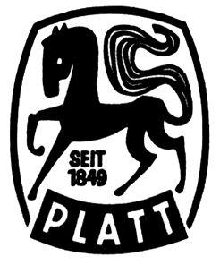 """Trademark """"Fa. Friedrich Platt, Eberbach (Bad.)"""""""