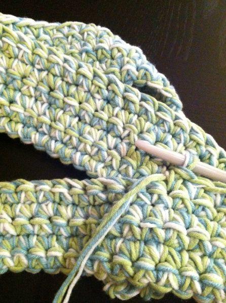 Easy Crochet Baby Blanket Tutorials : Chunky Crochet Baby Blanket ? Tutorial chucksforchancho ...