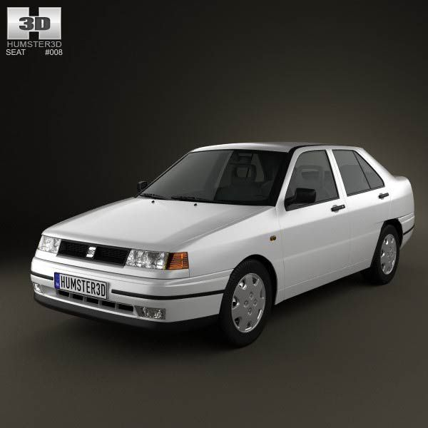 Seat Toledo Mk1 1993 3d model from humster3d.com. Price: $75