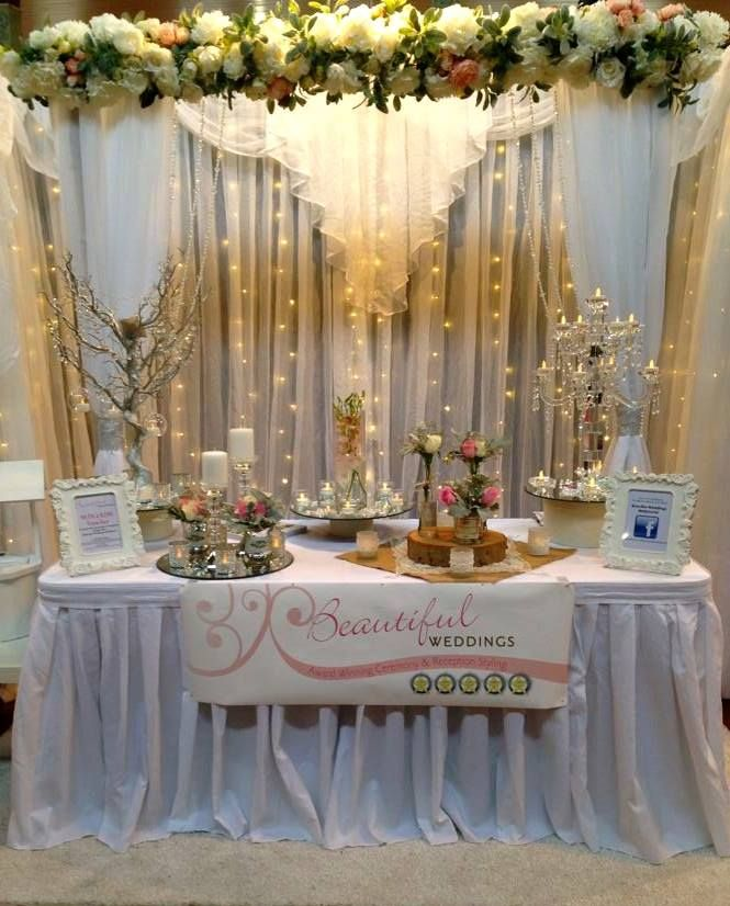 There's so many amazing stands here at the #UltimateBridalEvent, check out this gorgeous stand by the team at Beautiful Weddings Melbourne! Don't miss this spectacular event! Last day here at the Royal Exhibition Building