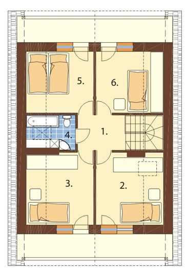 Plano De Casa De 200 M2 Floor Plans Home Decor Room Divider