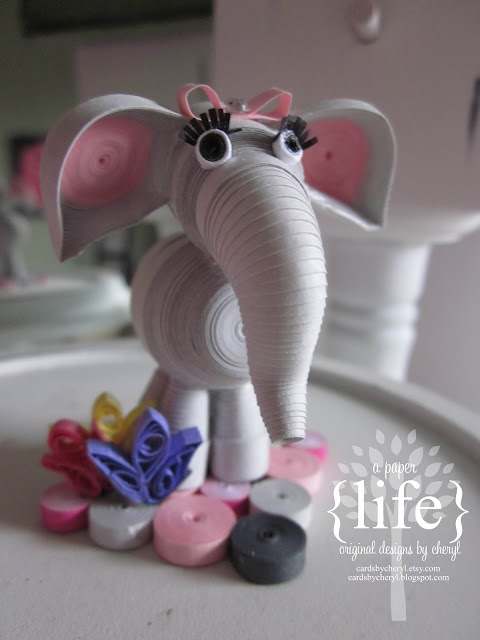 ~ a paper {life}- #cuteanimals #quilling