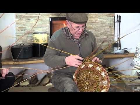 Pletenje iz šibja - YouTube