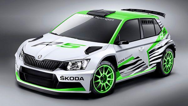 Škoda Fabia R 5 (2014)