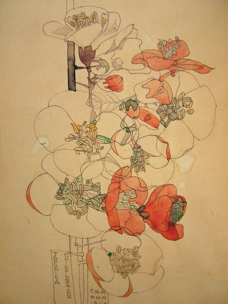 d'apres nature: Charles Rennie Mackintosh