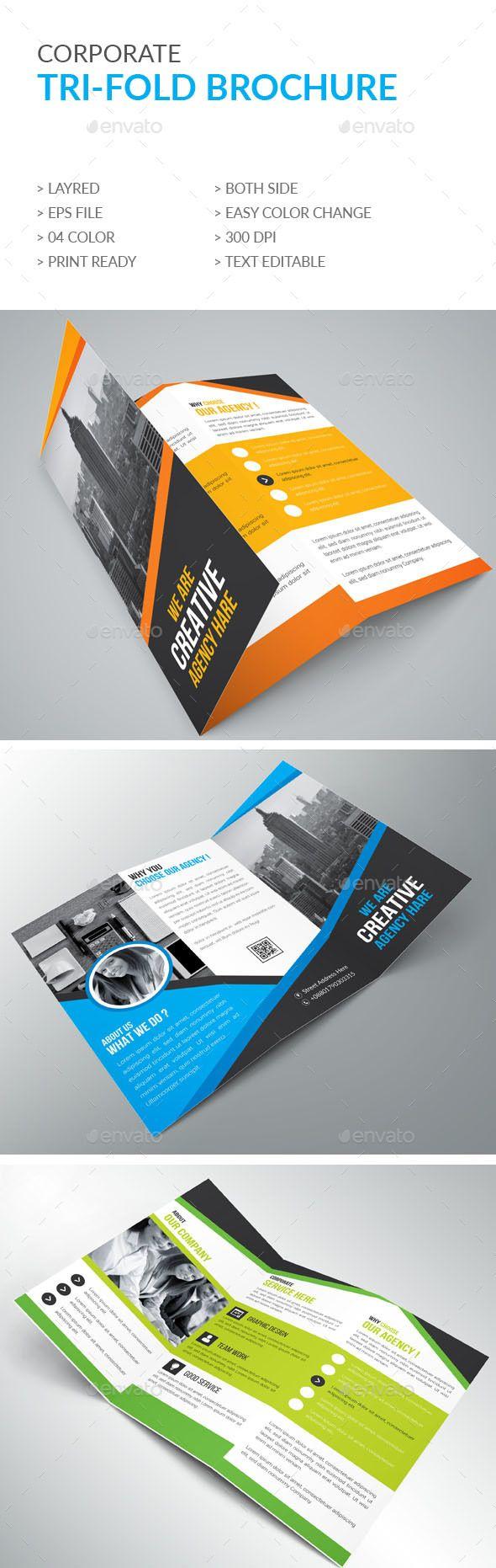 Trifold Brochure - Brochures Print Templates Download here : https://graphicriver.net/item/trifold-brochure/18914085?s_rank=149&ref=Al-fatih