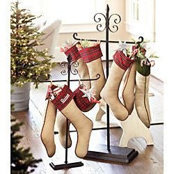 Tabletop stockings and holiday on pinterest