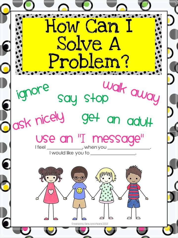 suggest ways to solve discipline problems in school Turn the frustration of behavior problems into teachable moments by understanding your child's behavior and the goals of discipline  this is a great way to help.