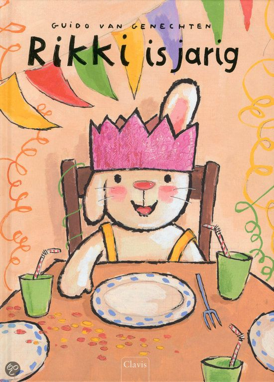 boek :Rikki is jarig
