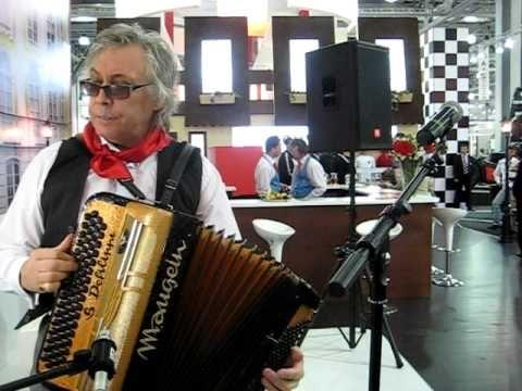 французская музыка, аккордеон Baby Love- Жеже де Монмартр