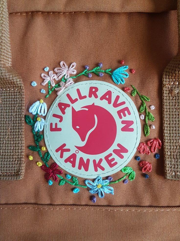 #Hipster Hipster Wedding : Kanken embroidery DIY | summer ...