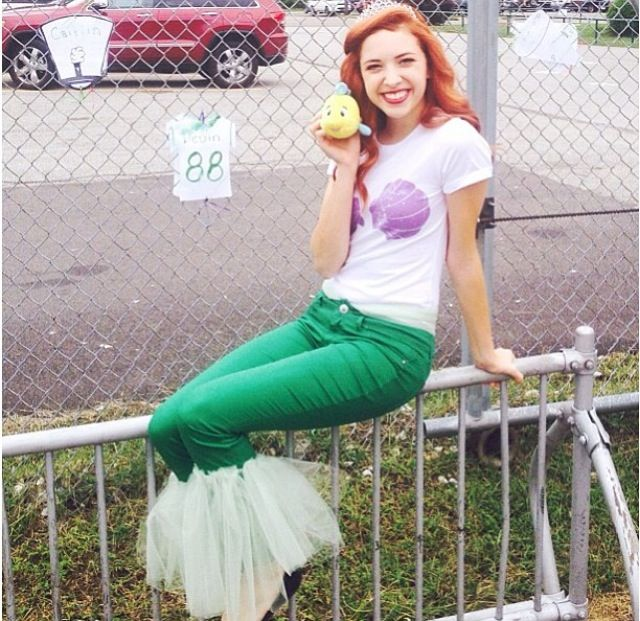 Ariel. Idea for Disney outfit.
