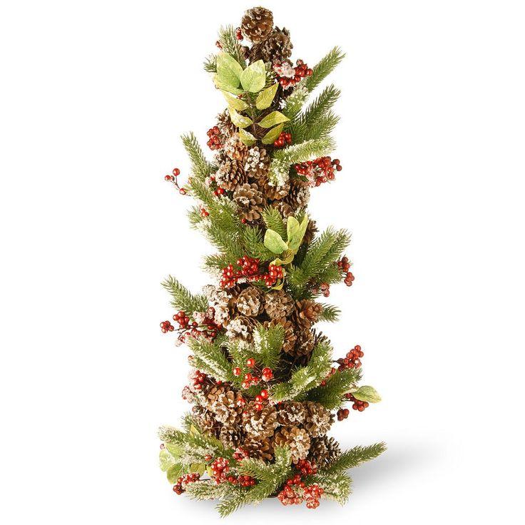 "National Tree Company 33"" Christmas Tree Table Decor, Multicolor"