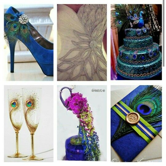 Peacock themed wedding!