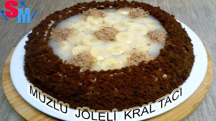 Muzlu Jöleli Kral Tacı Pasta Tarifi Nasıl yapılır Sibelin mutfağı ile ye...