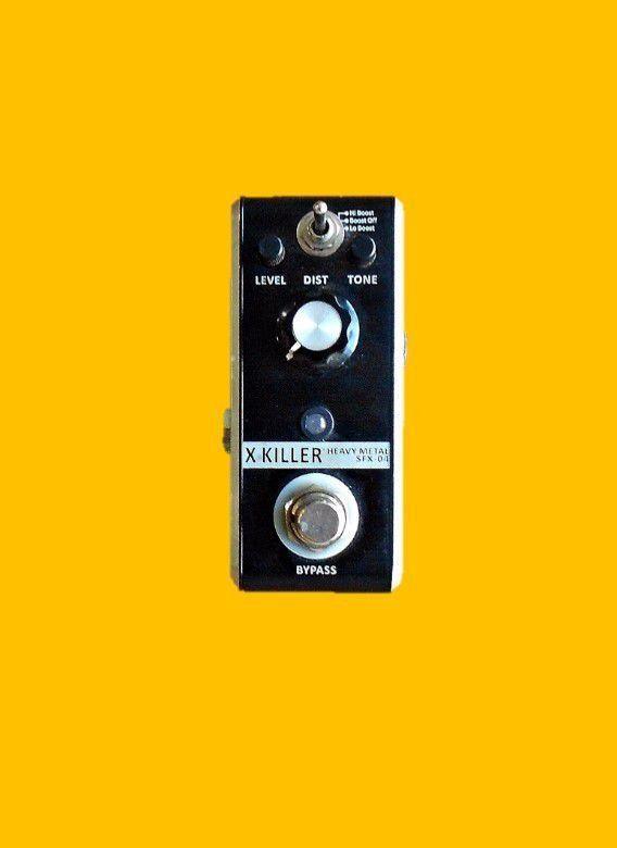Pedal HEAVY METAL X-Killer SFX-04 (Stº Angelo)