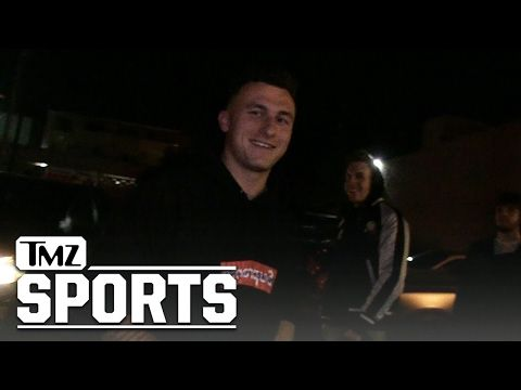 JOHNNY MANZIEL NO BACHELOR PARTY FOR ME ...I'm Focused on an NFL Comeback!! | TMZ Sports