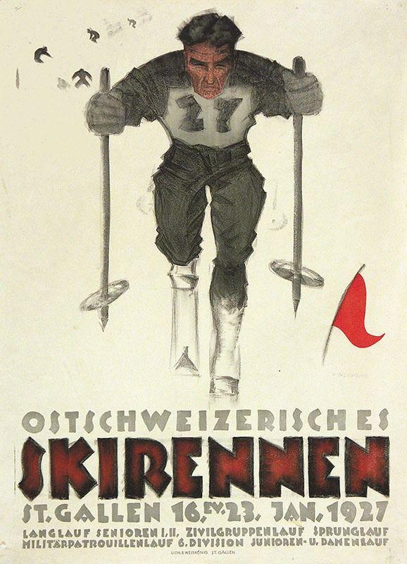 1927 Ostschweizerisches Skirennen, St. Gallen